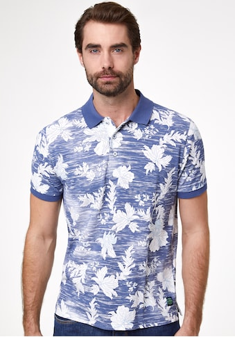 Pierre Cardin Poloshirt Flower Print kaufen