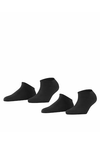 Esprit Sneakersocken »Uni 2-Pack«, (2 Paar), mit hohem Baumwollanteil kaufen