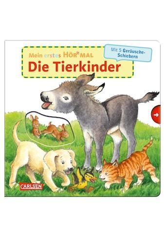 Buch »Mein erstes Hör mal (Soundbuch ab 1 Jahr): Die Tierkinder / Kyrima Trapp, Kyrima... kaufen