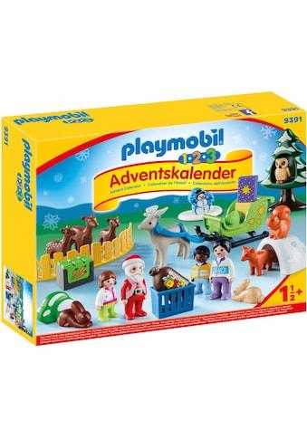 """Playmobil® Adventskalender """"1.2.3 Adventskalender »Waldweihnacht der Tiere« (9391)"""" kaufen"""