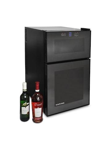 Klarstein Klarstein MKS - 3 Weinkühlschrank 70 Liter 24 Flaschen 2 Zonen »MKS - 3« kaufen