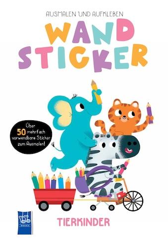 Buch Wandsticker  -  Tierkinder / DIVERSE kaufen