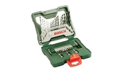 BOSCH Set: Bohrer -  und Bit - Set »X - line«, 33 - tlg. kaufen