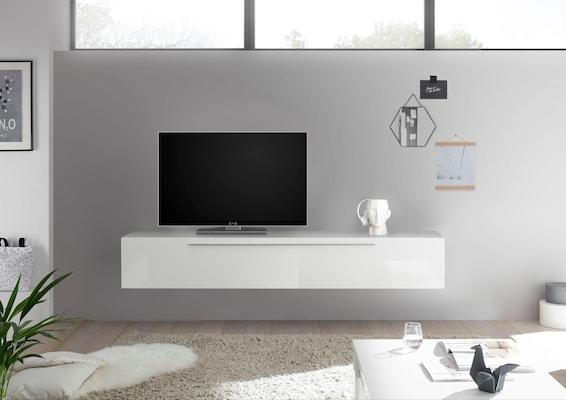 weißes TV-Board