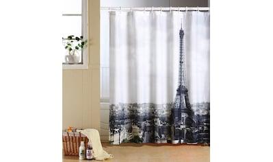 MSV Duschvorhang »PARIS«, Breite 180 cm kaufen