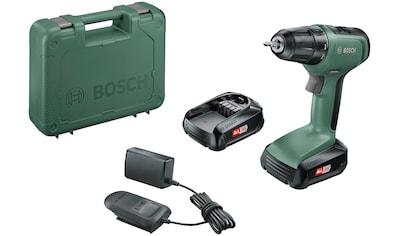 Bosch Powertools Akku-Bohrschrauber »UniversalDrill 18«, (Set), inkl. 2 Akkus und Koffer kaufen
