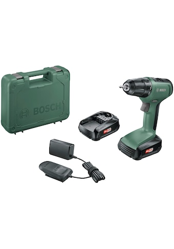 BOSCH Akku-Bohrschrauber »UniversalDrill 18«, (Set), inkl. 2 Akkus und Koffer kaufen