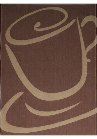 stuco Geschirrtuch »Mokka - Jacquard«, (Set, 3 tlg.) kaufen