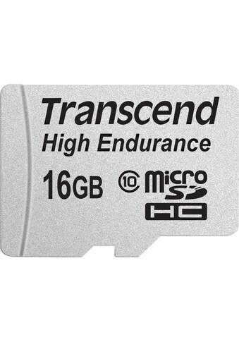 Transcend »High Endurance microSDXC/SDHC« Speicherkarte (Lesegeschwindigkeit maximal 21 MB/s) kaufen