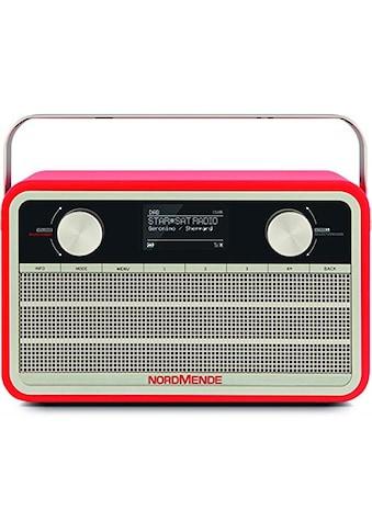 Nordmende DAB+/UKW Digitalradio und Internetradio im Retrolook »Transita 120 IR« kaufen
