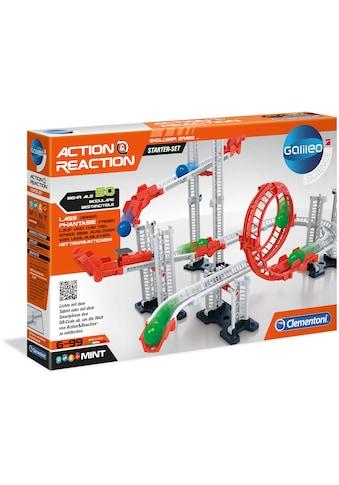 Clementoni® Kugelbahn-Bausatz »Galileo Action & Reaction Starter Set«, Made in Europe kaufen
