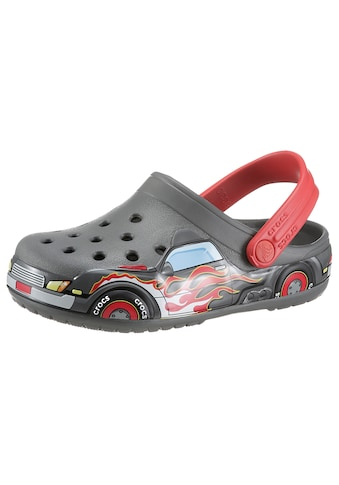 Crocs Clog »Slate Grey FL Truck Band Clog K«, mit coolen Flammen-Druck kaufen