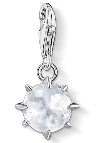 THOMAS SABO Charm-Einhänger »Geburtsstein April, 1790-197-14«, mit Bergkristall und... kaufen