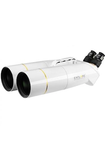 EXPLORE SCIENTIFIC Fernglas »BT-100SF Großfernglas mit 62° LER Okularen 20mm«,... kaufen