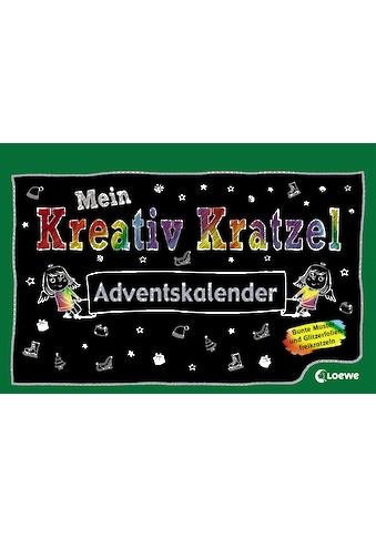 Buch Mein Kreativ - Kratzel Adventskalender / Pina Gertenbach kaufen