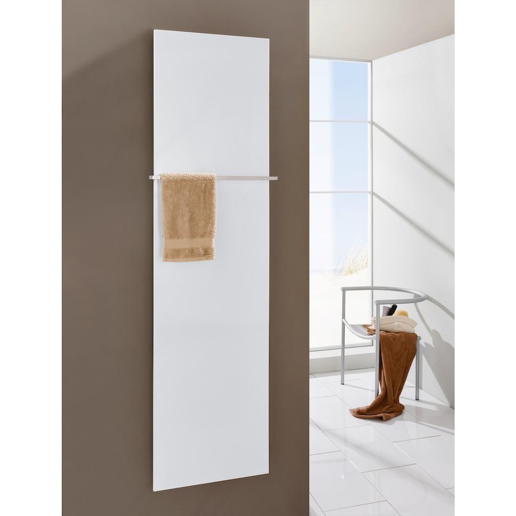 SZ METALL Heizkörper »Mirror Steel 18«, mit Handtuchhalter