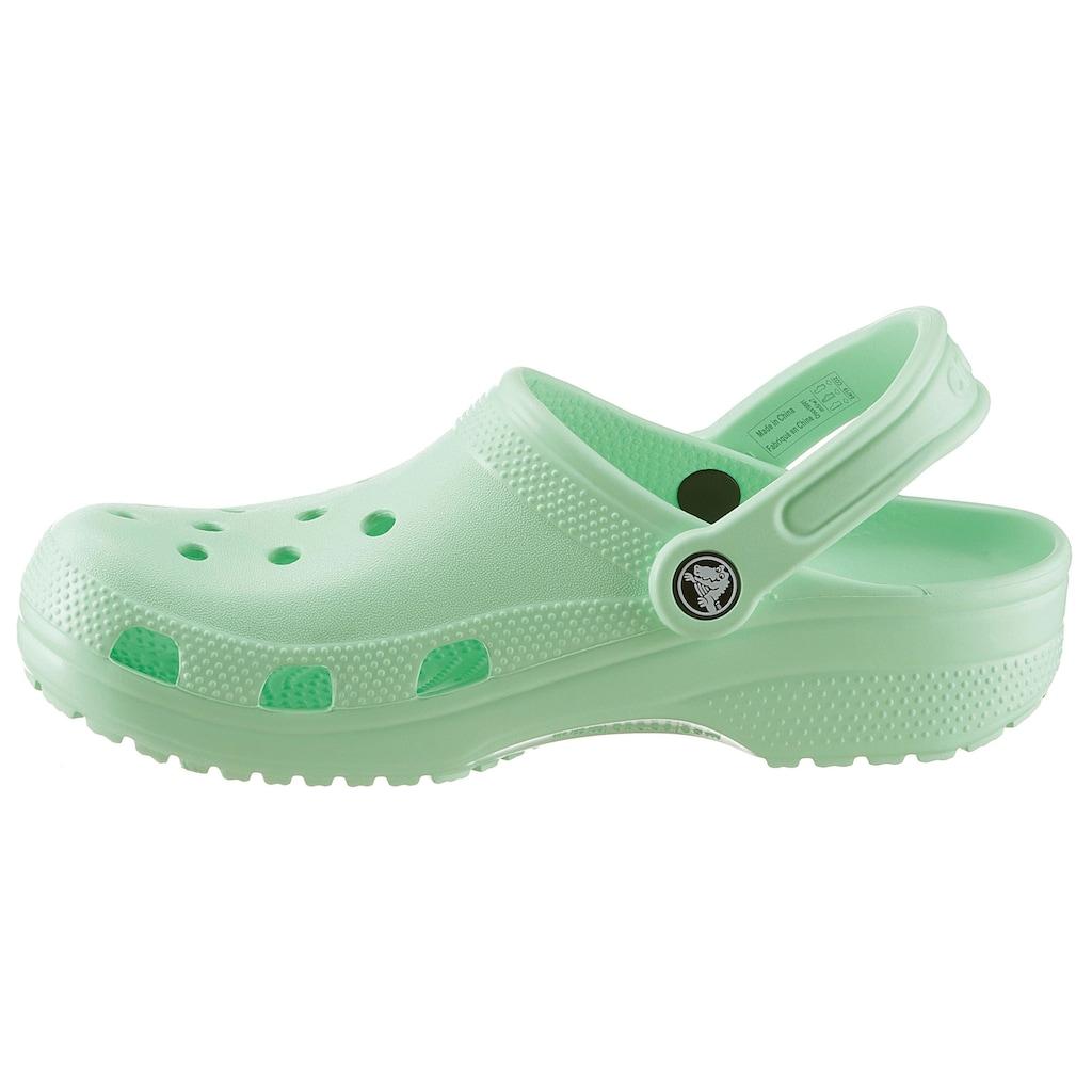 Crocs Clog »Classic«, mit typischem Logo