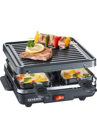 Severin Raclette RG 2686, 4 Raclettepfännchen, 600 Watt kaufen
