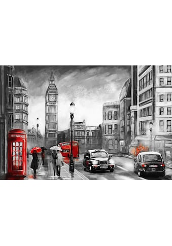 Places of Style Leinwandbild »London« kaufen