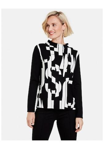GERRY WEBER Strickpullover »Pullover mit Blocklettern« kaufen
