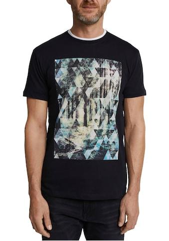 Esprit T-Shirt, mit großem Fotoprint kaufen