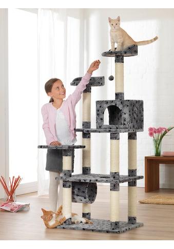 ABUKI Kratzbaum »Pfötchen«, hoch, BxTxH: 60x50x155 cm kaufen