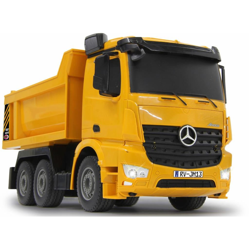 Jamara RC-Truck »Muldenkipper Mercedes Arocs«, mit LED-Licht