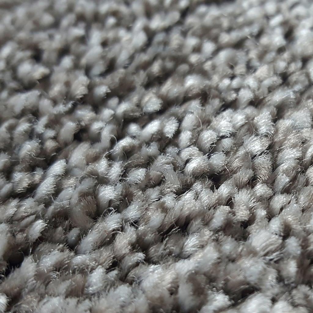 Andiamo Teppichboden »Narmada braun«, rechteckig, 13 mm Höhe, Meterware, Breite 500 cm, antistatisch, schallschluckend