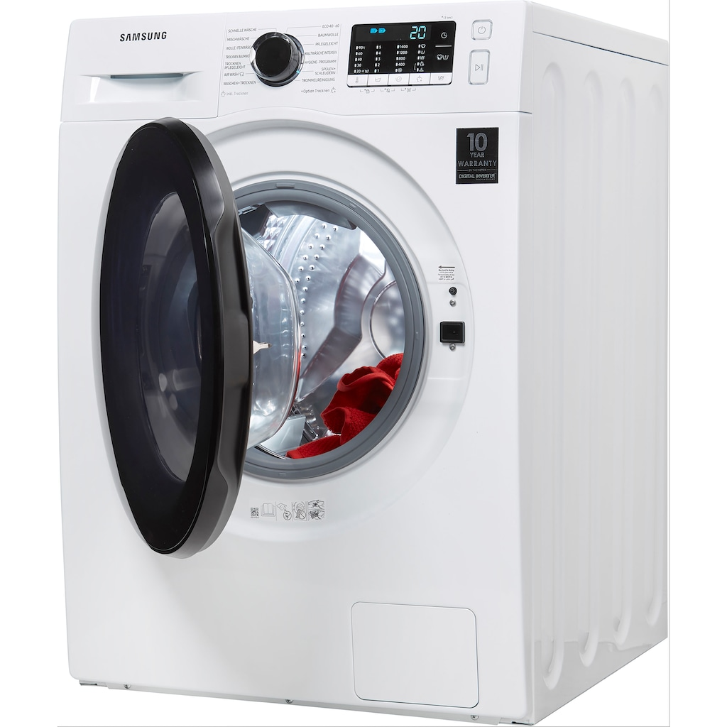 Samsung Waschtrockner »WD91TA049BE«, WD5000T, SchaumAktiv