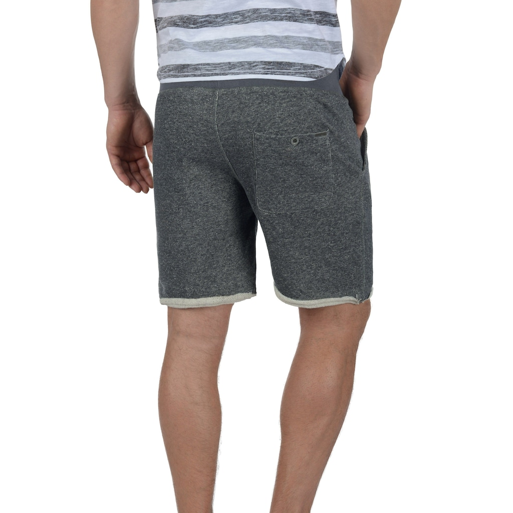 Blend Sweatshorts »Reginal«, kurze Hose mit offenen Saumkanten am Bein