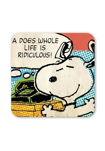 LOGOSHIRT Untersetzer mit lustigem Snoopy-Motiv kaufen
