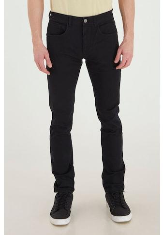 Blend 5-Pocket-Hose »Saturn«, lange Hose mit zahlreichen Leder-Logopatches kaufen