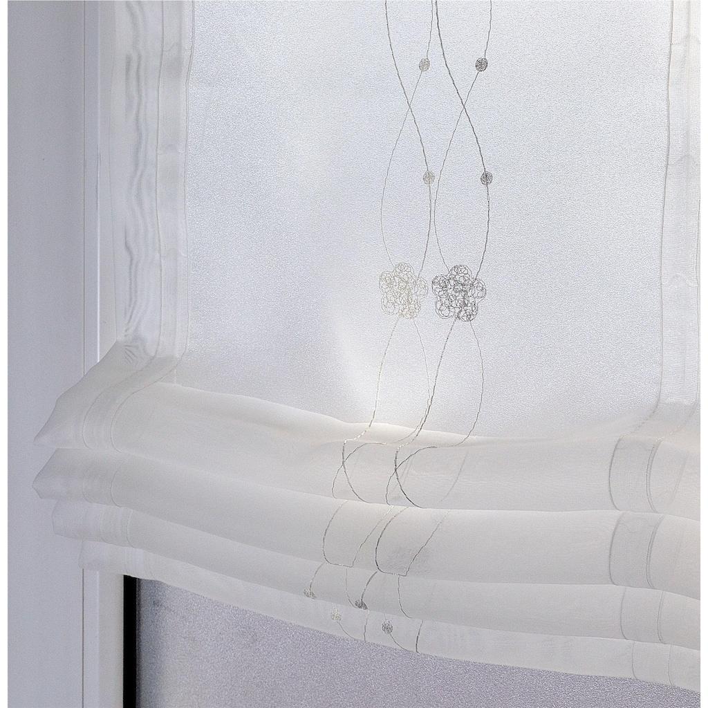 Kutti Raffrollo »Bailey«, mit Hakenaufhängung, ohne Bohren, freihängend
