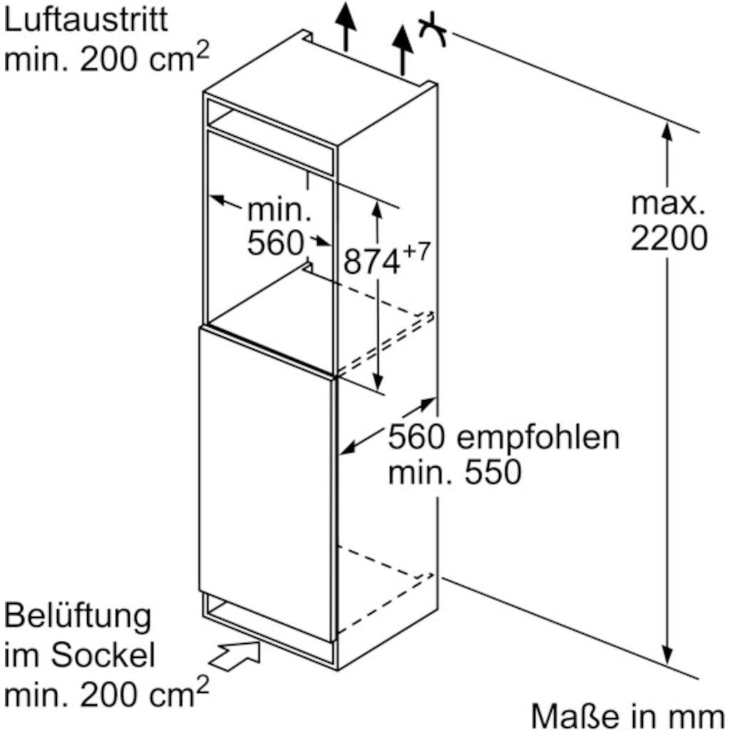 BOSCH Einbaukühlschrank »KIR21ADD0«, 6