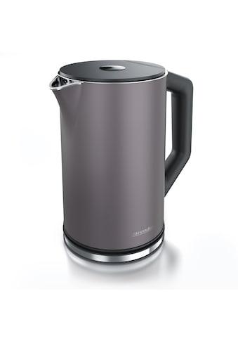 Arendo Wasserkocher »ELEGANT 1,5 Liter - Vulkangrau«, 1.5 l, 2200 W, mit... kaufen