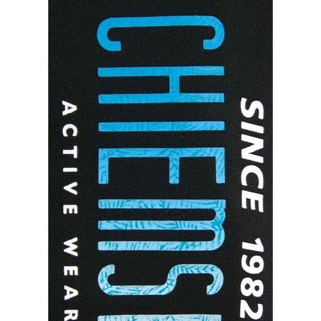 Chiemsee Boxer-Badehose, mit Logodruck