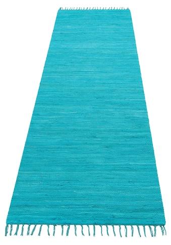 Läufer, »Paul«, Lüttenhütt, rechteckig, Höhe 5 mm, handgewebt kaufen