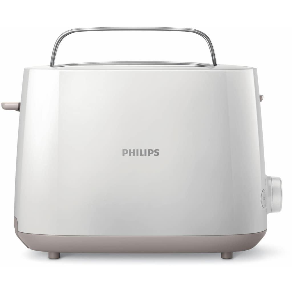 Philips Toaster »HD2581/00«, 2 kurze Schlitze, 830 W