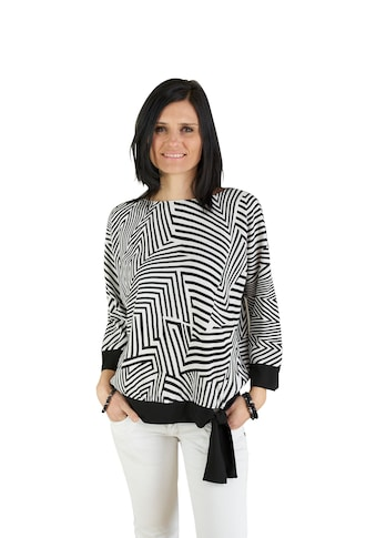 Seidel Moden Black and White Bluse kaufen