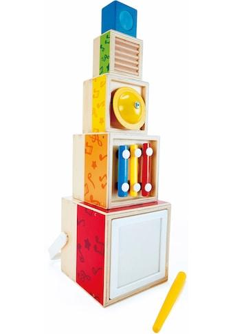 Hape Spielzeug-Musikinstrument »Musik-Stapelwürfel« kaufen