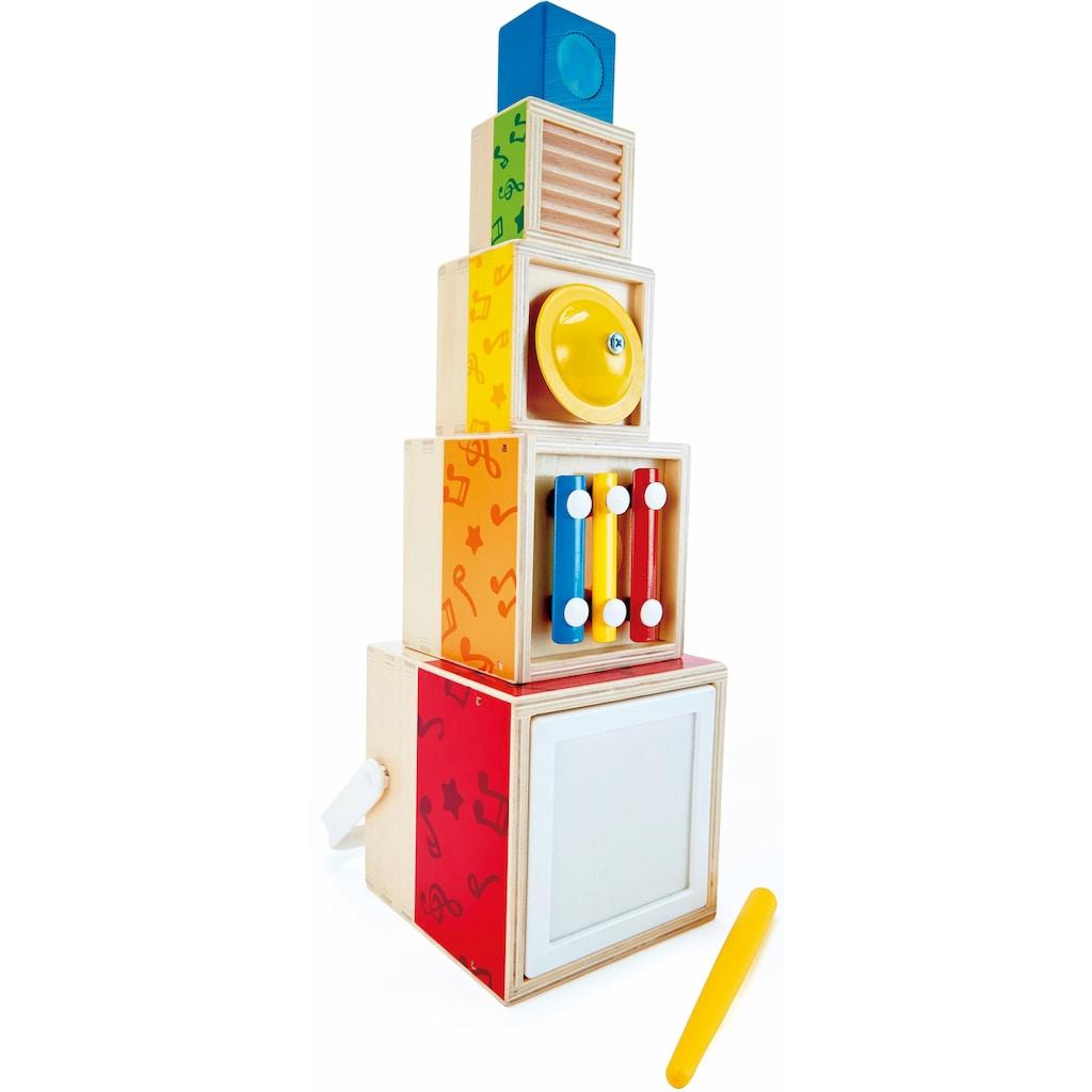 Hape Spielzeug-Musikinstrument »Musik-Stapelwürfel«