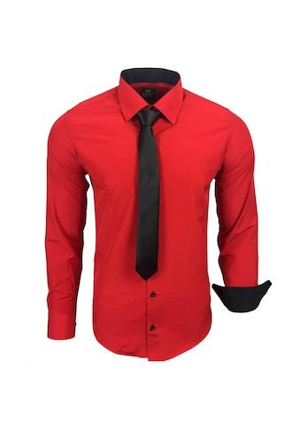 Rusty Neal Langarmhemd im körpernahen Schnitt kaufen
