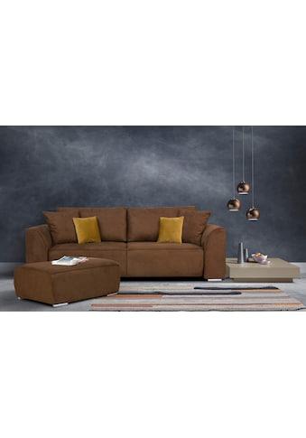 INOSIGN 3-Sitzer »Beatrice«, wahlweise auch mit Bettfunktion und Bettkasten (Tiefe... kaufen
