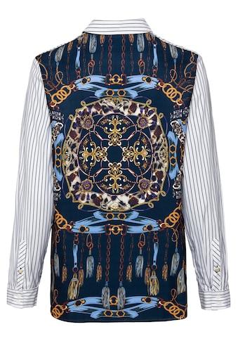 bianca Hemdbluse »ADELA«, mit angesagten Heraldikprint auf der Rückenpartie kaufen