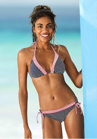 s.Oliver Bikini-Hose »Avni«, mit abgesetztem Ziergürtel kaufen