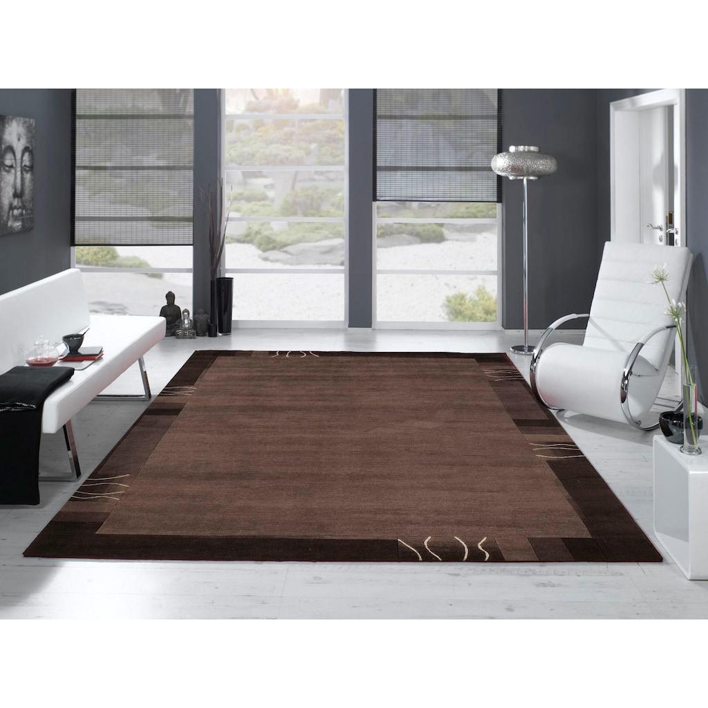 OCI DIE TEPPICHMARKE Teppich »Premier Silk Tama«, rechteckig, 15 mm Höhe, handgeknüpft, Wohnzimmer