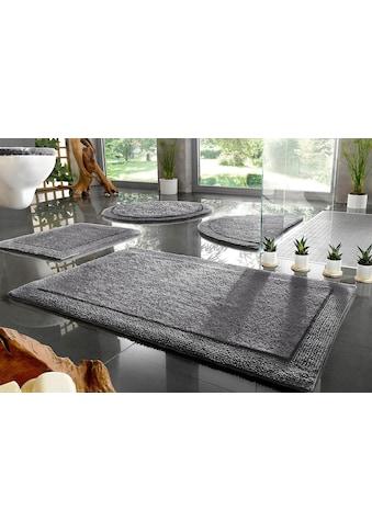 Home affaire Badematte »Kapra«, Höhe 10 mm, beidseitig nutzbar, Bio Baumwolle kaufen