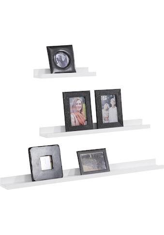Home affaire Bilderleiste »Pics«, (Set, 3 St.) kaufen