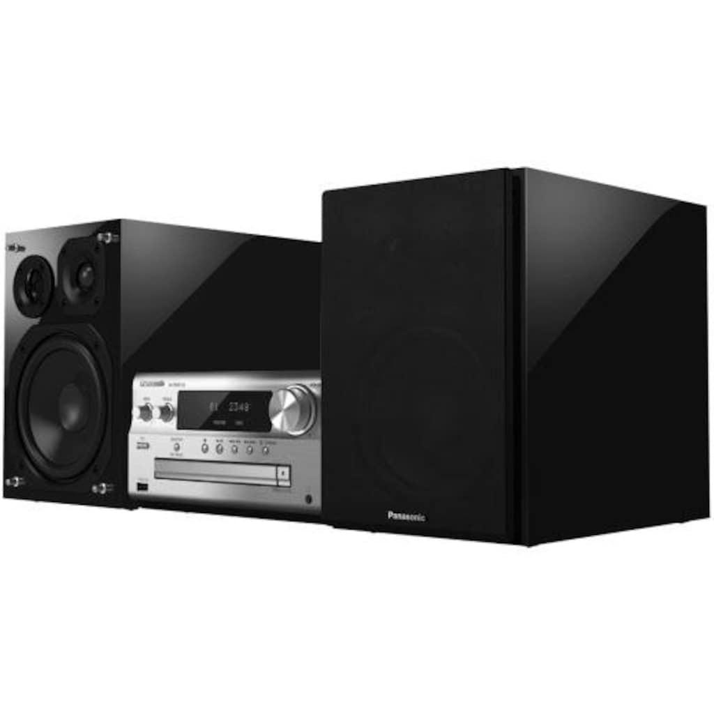 Panasonic »SC-PMX152« Microanlage (Internetradio,Digitalradio (DAB+),FM-Tuner mit RDS, 120 Watt)