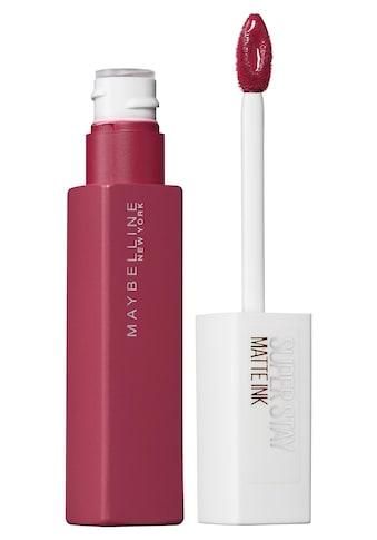 MAYBELLINE NEW YORK Lippenstift »Superstay Matte Ink« kaufen